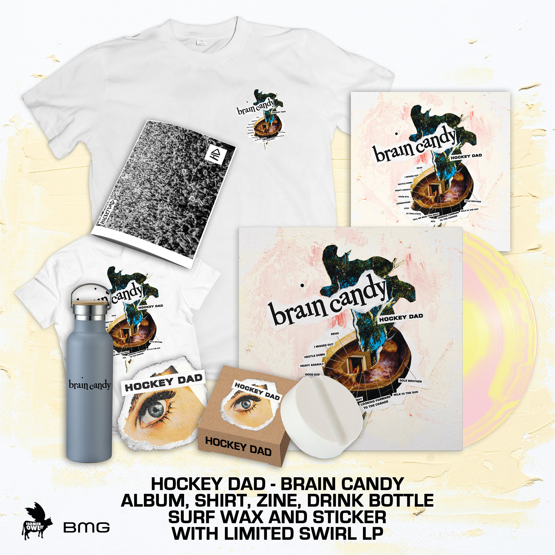 Brain Candy Deluxe Swirl Vinyl Bundle
