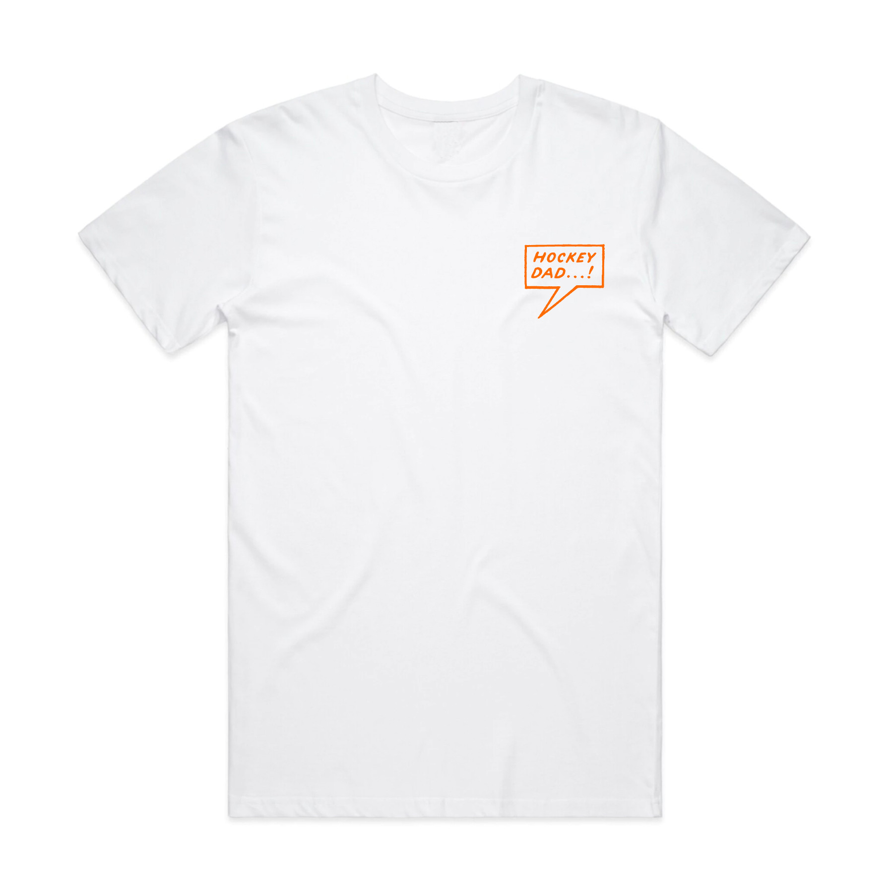 Egg Beater White Tee